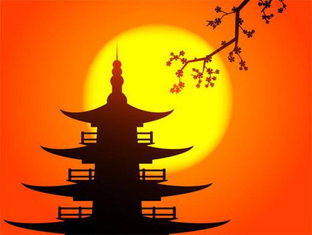Рисунки японского солнца