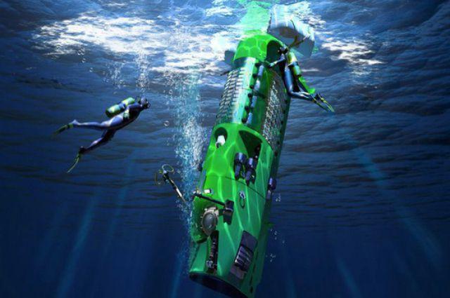 Знаменитый глубоководный аппарат «Дипси Челленджер».