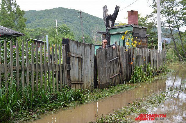 27 августа шторм принёс в районы Приморья до двух месячных норм осадков.