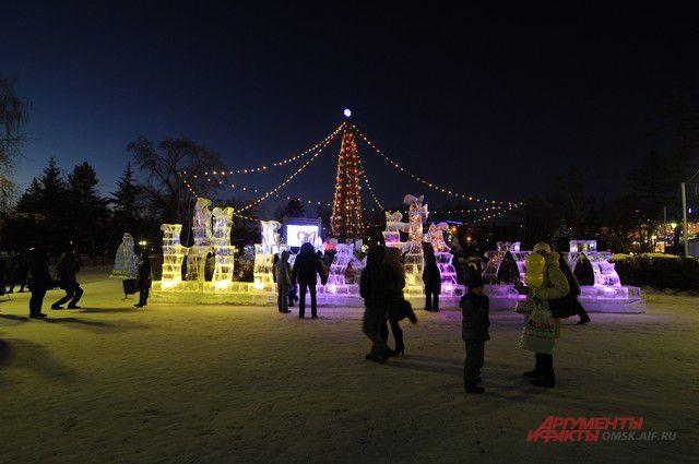 Главные новогодние мероприятия пройдут в парке 30-летия ВЛКСМ.