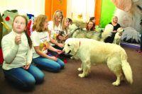 Занятия с четвероногими открывают детям мир общения и радости.