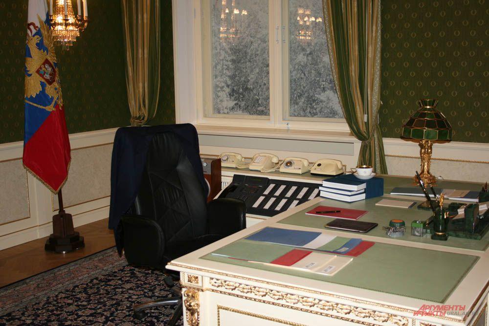 Кабинет первого президента в Кремле. Все вещи – подлинные.