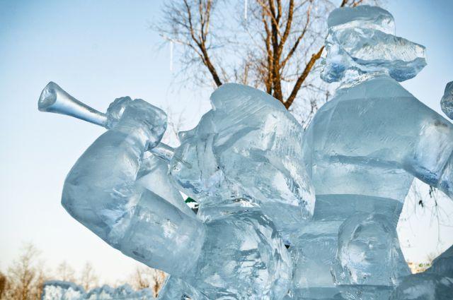 На конкурсной площадке вырастет настоящий снежный городок!