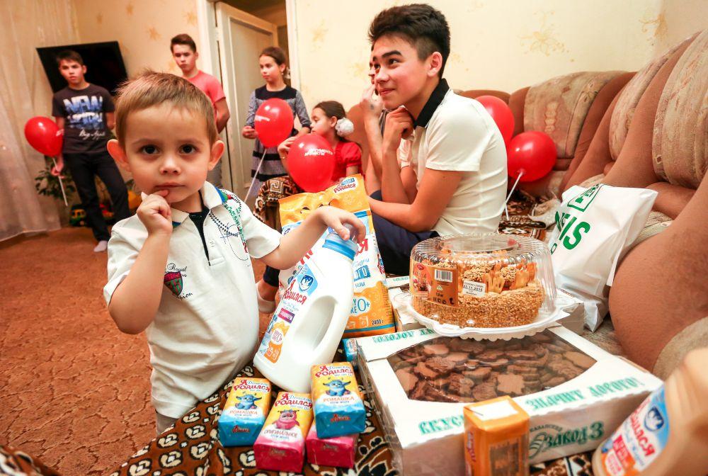 Рушан Мустафин - младший, 6-й ребенок в семье