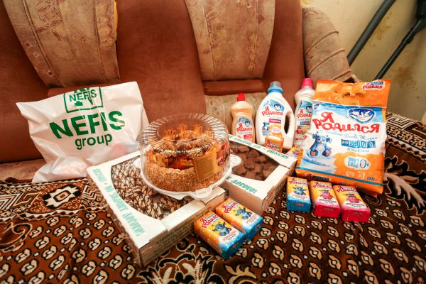 Казанский Хлебозавод № 3 передал вкуснейшие торты «Золотые купола» и коробки сдобного печенья