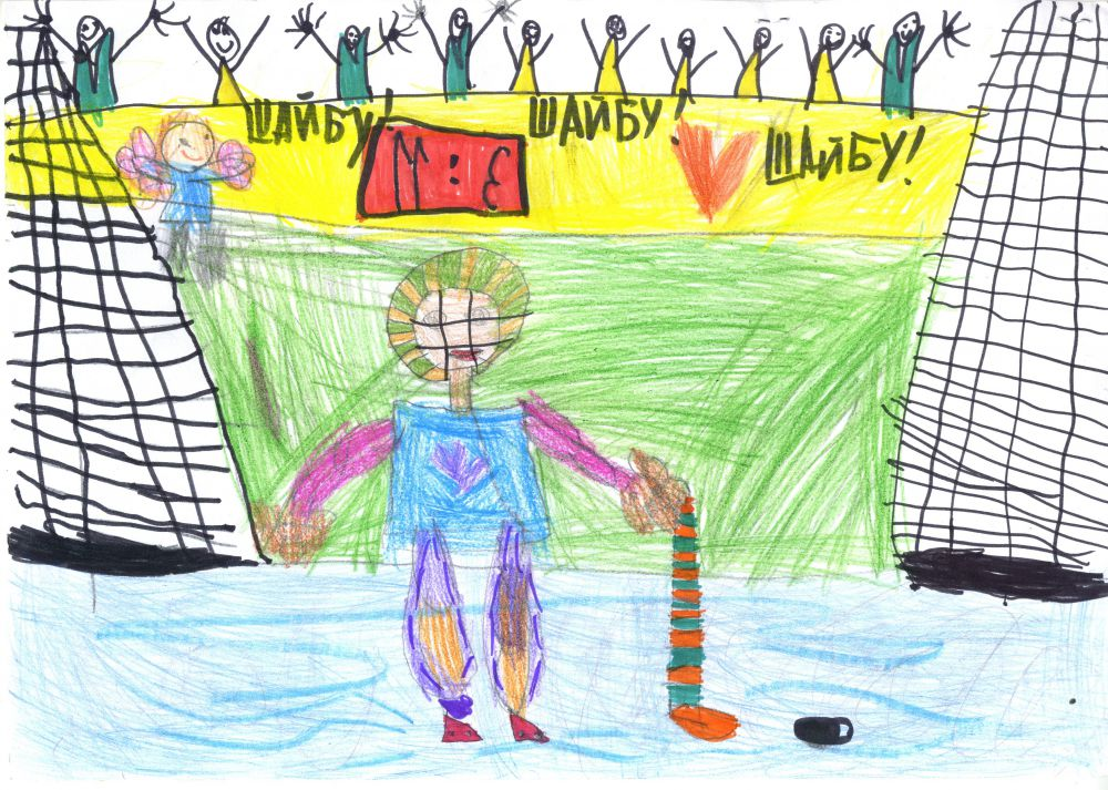 43. Стрепетилова Анна, 6 лет