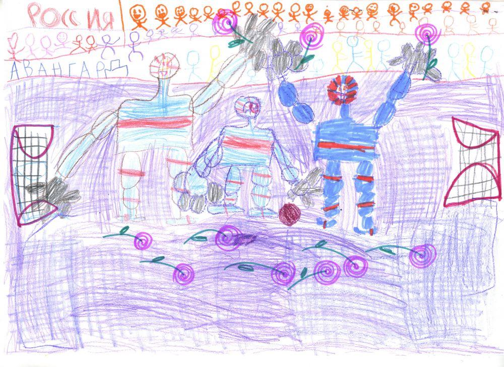 2. Виноградова Рита, 6 лет