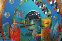 Фрагмент картины Игоря Тюльпанова «Голубой сон на дне океана», скриншот кадра.