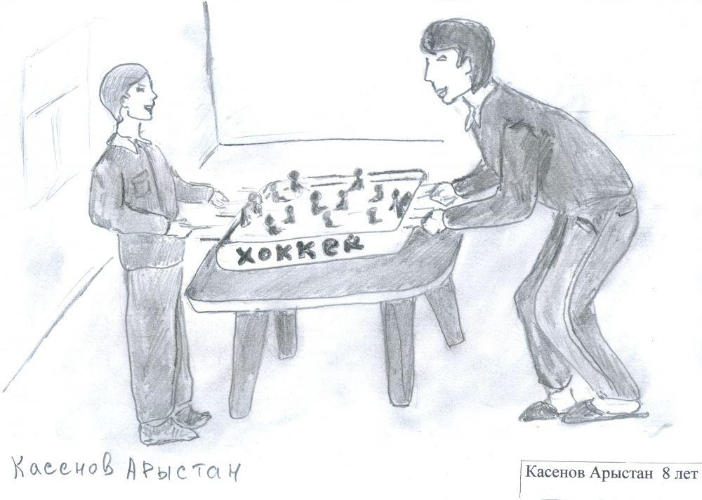 13. Касенов Арыстан, 8 лет