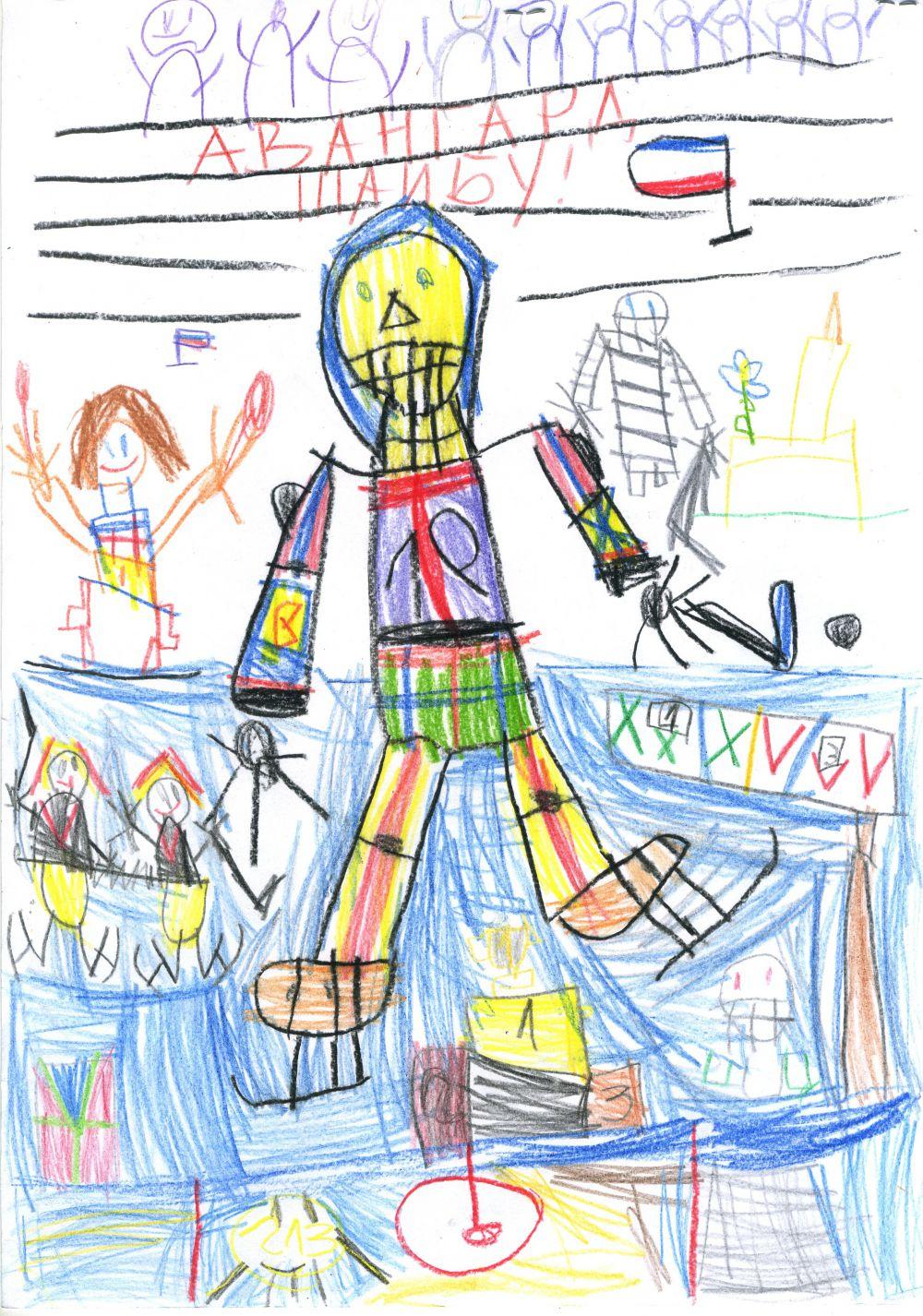 25. Лось Александр, 6 лет