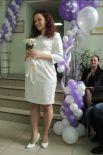 В этом платье можно на любой праздник, даже на собственную свадьбу.