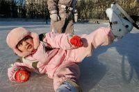 В Омске открылся бесплатный каток.