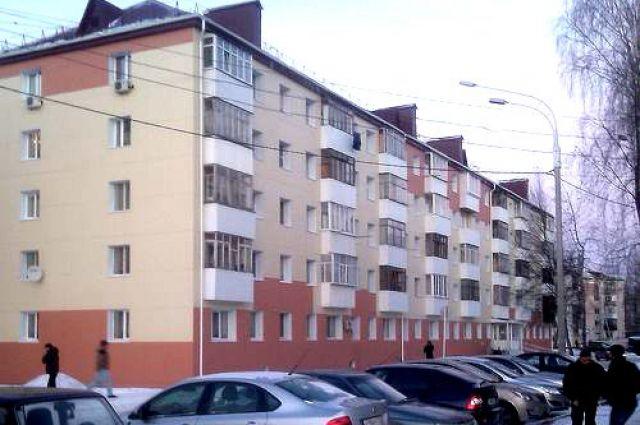 Обновленный фасад дома.