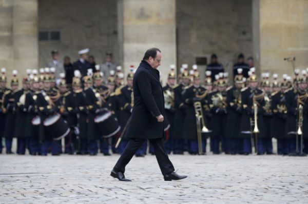 На торжественном мероприятии присутствовали все представители французского политического класса.