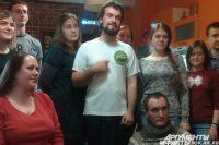 Путешественник встретился с новосибирцами.