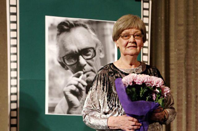 Нина Гребешкова на вечере памяти Леонида Гайдая.