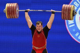 Алексей Ловчев на соревнованиях в Техасе. Победный толчок.