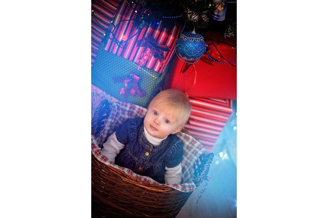 Самая маленькая участница нашего конкурса Ульяна.