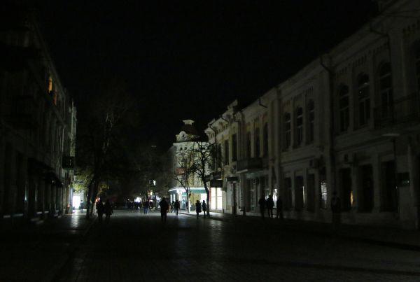 Одна из улиц Симферополя.