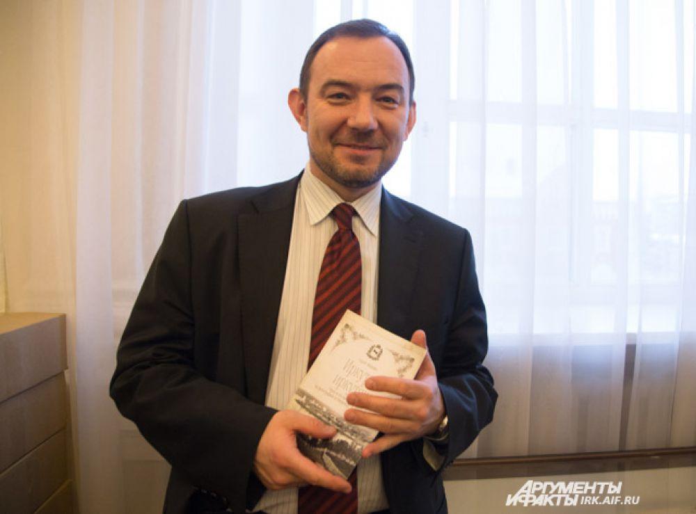 Начальник управления культуры Иркутска Виталий Барышников.