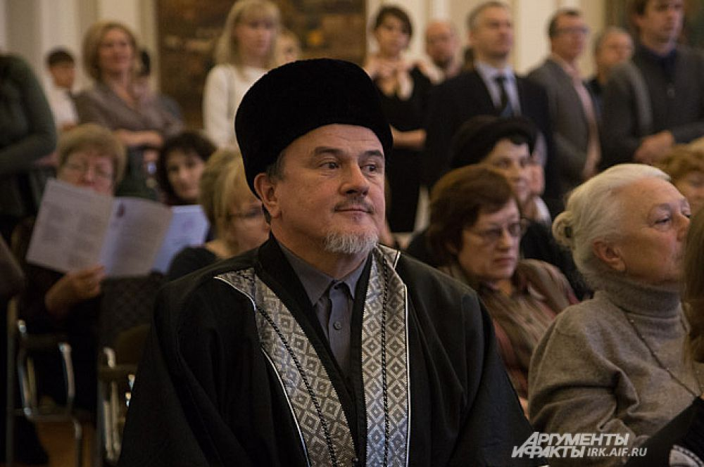 Презентацию посетили представители разных конфессий.