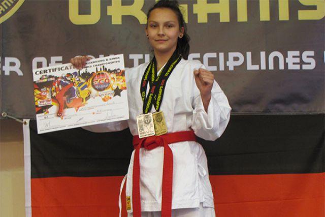Елизавета Биктимирова - чемпионка мира по комбат-самообороне.
