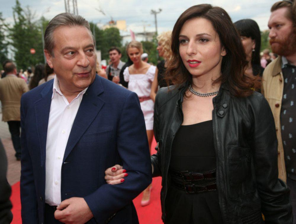 Геннадий Хазанов с дочерью Алисой.