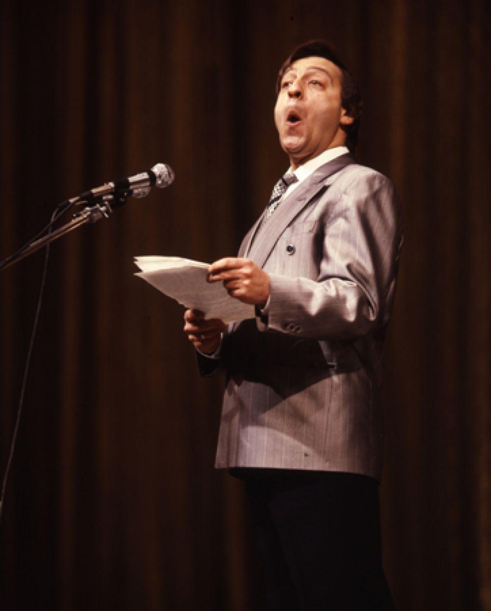 В 1975 году Хазанову пришёл всесоюзный успех — по телевидению показали его монолог студента кулинарного техникума, и Хазанов прославился на весь Советский Союз. Геннадий Хазанов стал звездой советской репризы. Сейчас этот жанр назвали бы stand up comedy.