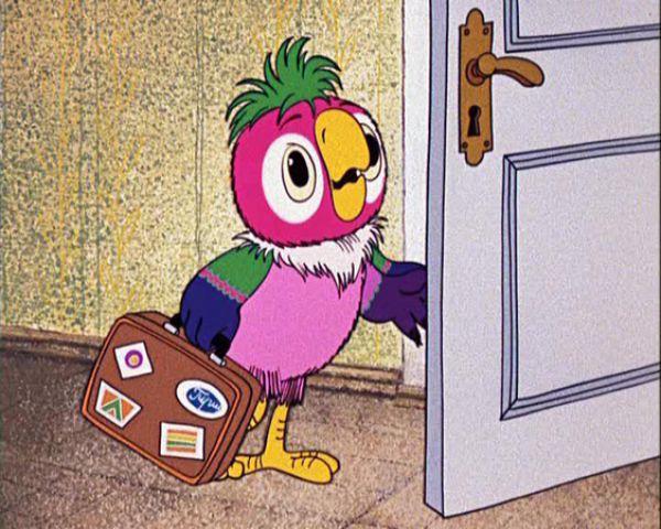Геннадий Хазанов не раз снимался в «Ералаше» и озвучил множество советских и российских мультфильмов. В частности, именно его голосом говорит знаменитый попугай Кеша из мультфильма «Возвращение блудного попугая».