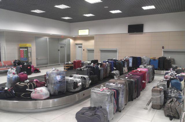 352 единицы багажа доставили в Новосибирск.