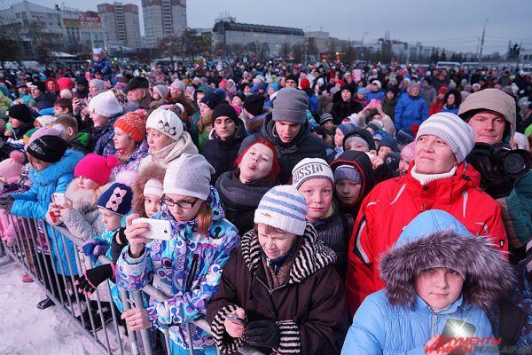 Около тысячи пермяков посетили красочное событие.