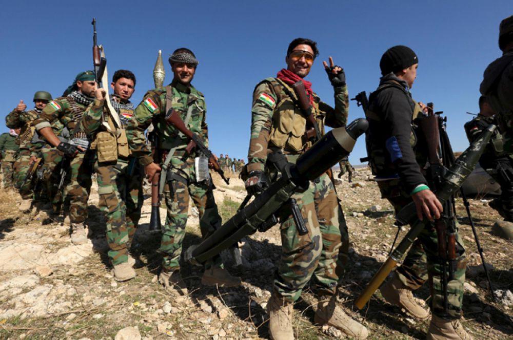 Курдские отряды освободили от боевиков ИГИЛ стратегический город Синджар в Ираке.
