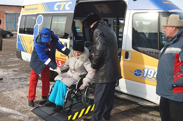 У ангарских инвалидов есть свобода передвижения.