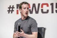 Основатель сети Facebook Марк Цукерберг.
