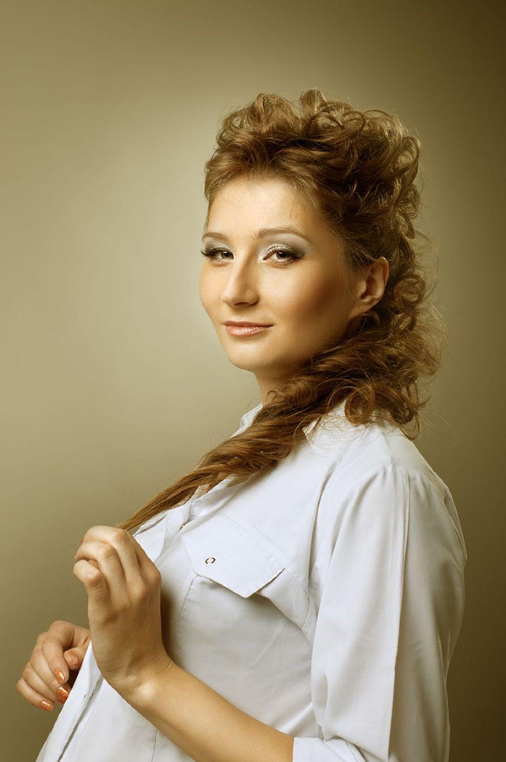 Виктория Голомидова. Работает в Кировской городской больнице №1.