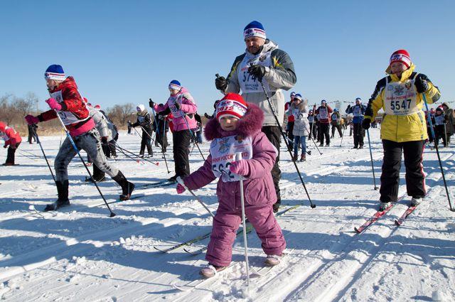 Лыжную прогулку с мэром могут занести в книгу рекордов Гиннеса