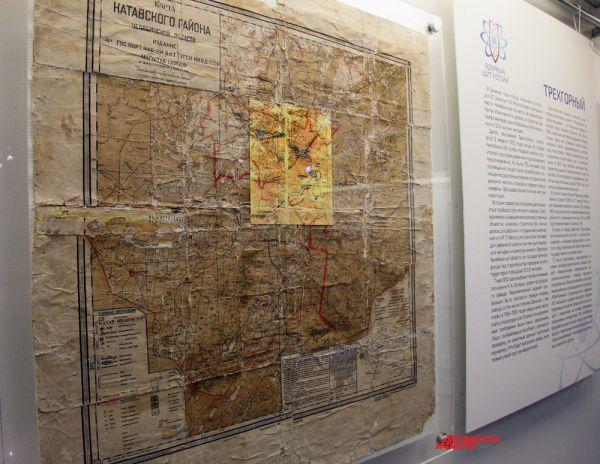 Карта Катавского района