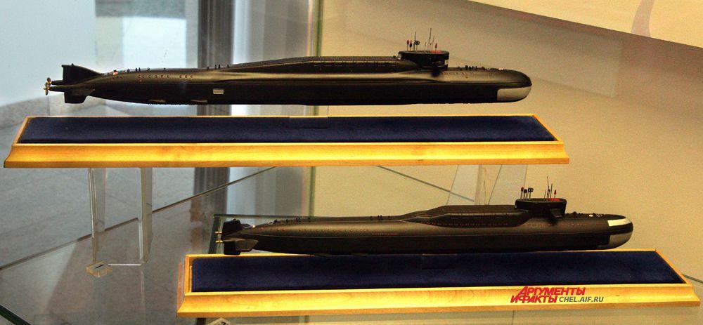 Макеты подводных лодок