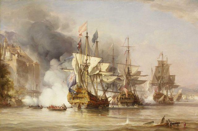 Джордж Чемберс старший. Захват Пуэрто-Белло, 1739 г. (Война между Англией и Испанией).