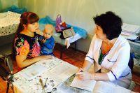 Сегодня врачи мобильной поликлиники принимают жителей села Лазо.