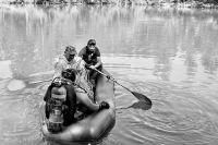 Водолазные работы на озере Йылкысыкканкуль. Фото: Эрнст Мулдашев/