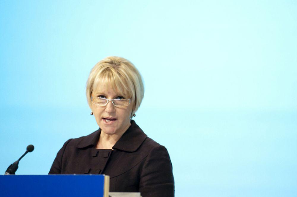 Министр иностранных дел Швеции Маргот Валльстрём – за детализацию феминистской внешней политики.