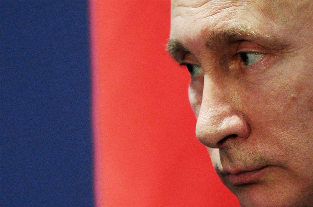 Президент России Владими Путин.