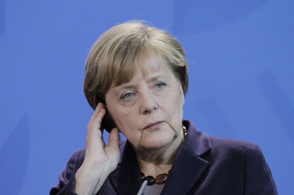 Канцлер Германии Ангела Меркель попала в рейтинг «за попытку справиться с кризисом мигрантов в Европе».