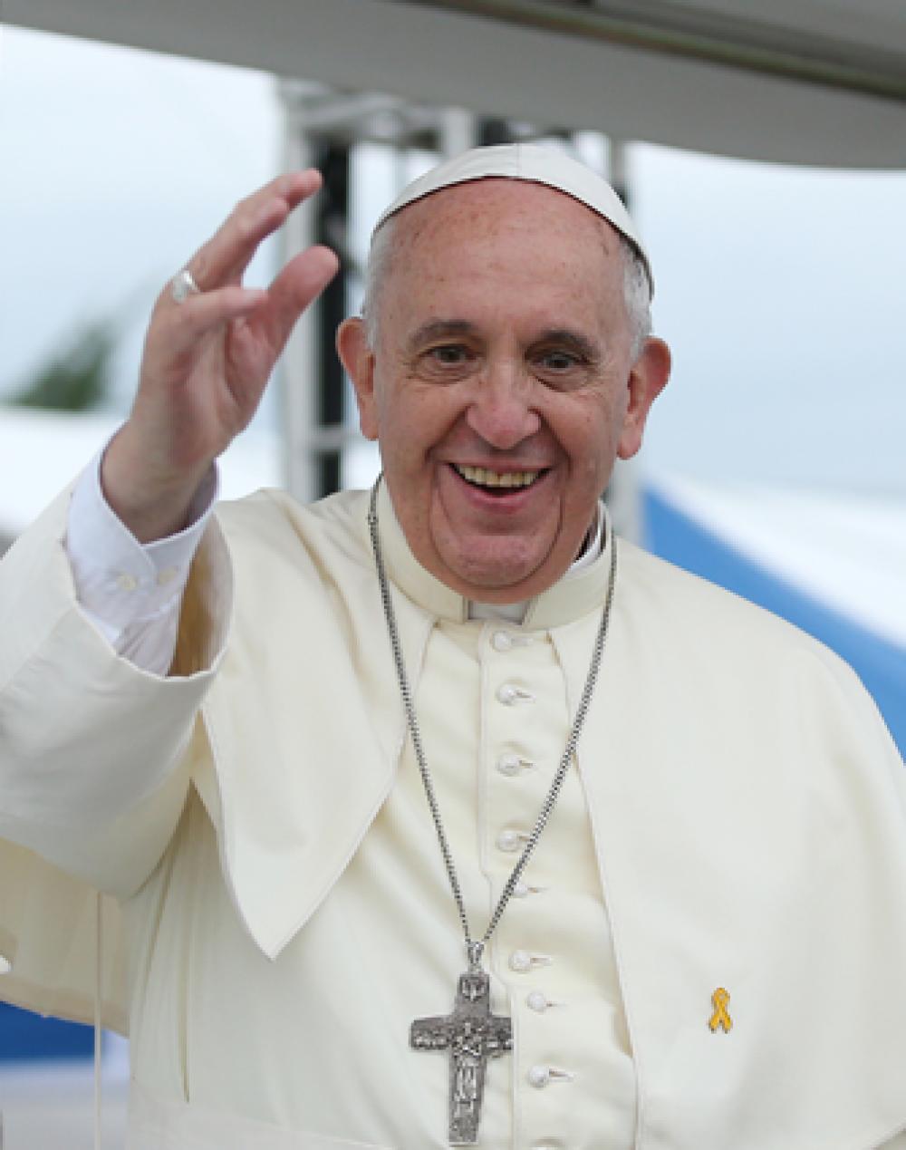 В рейтинге также оказался Папа Римский Франциск.