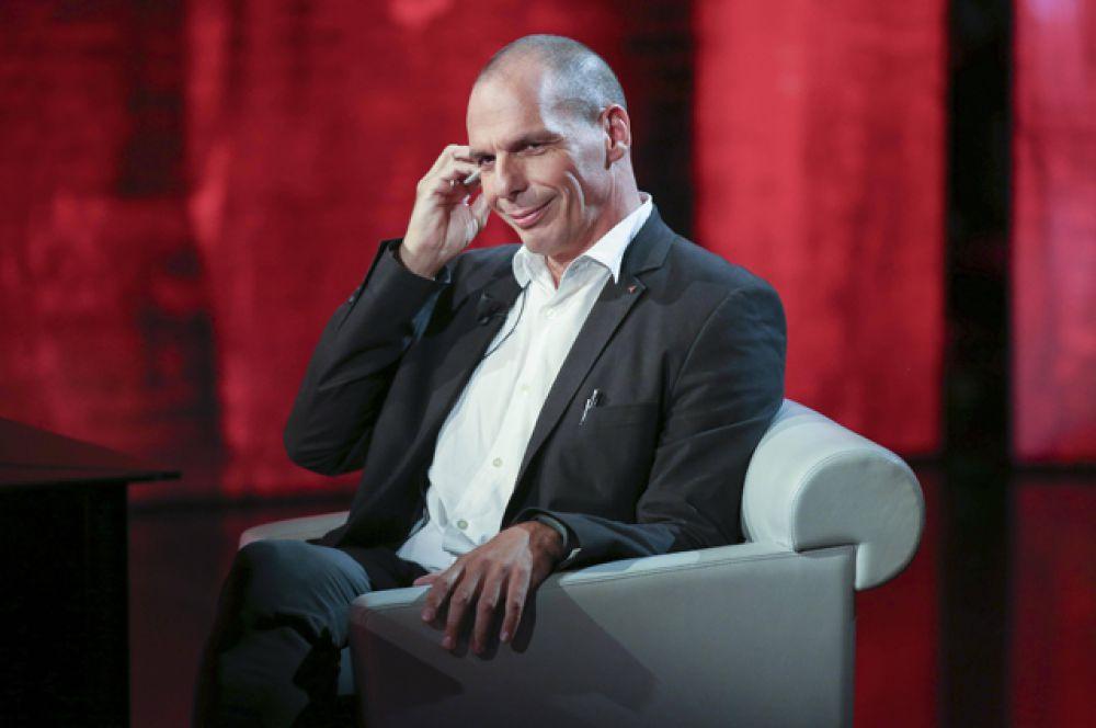 Экс-министр финансов Греции Янис Варуфакис — за противостояние «тройке» международных кредиторов.