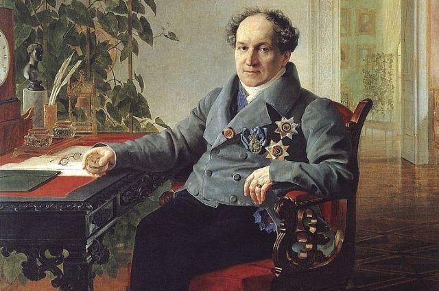 Портрет члена Государственного совета князя А.Н. Голицына.