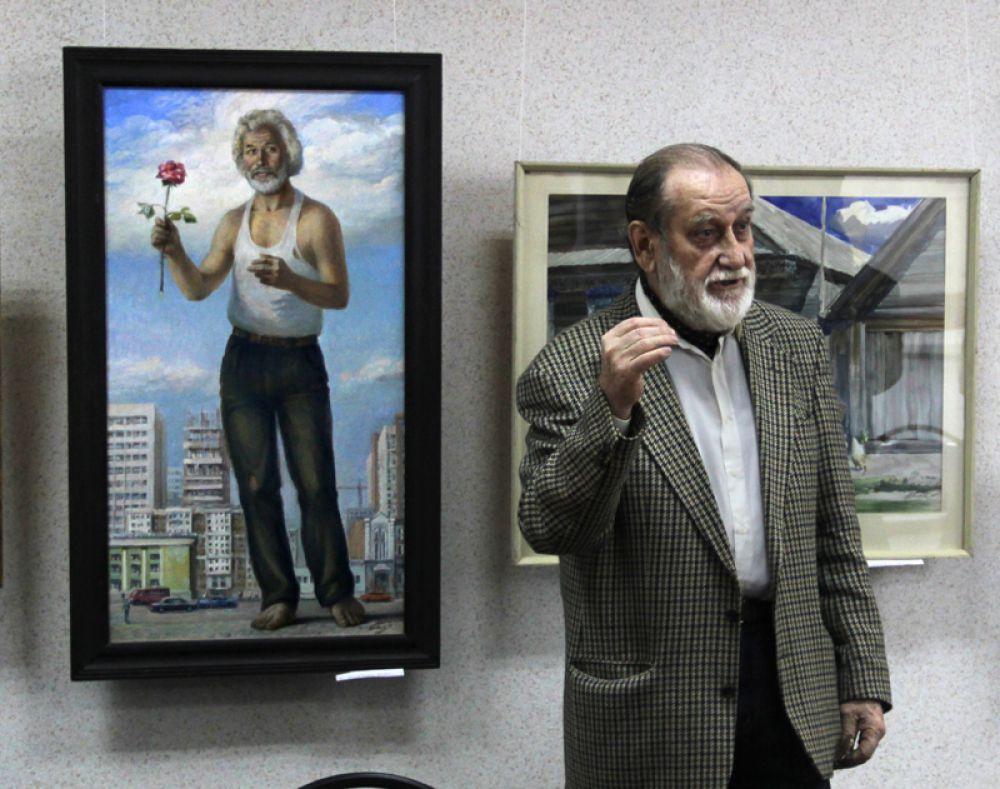 С портретом поэта Анатолия Чеснокова связана целая история...