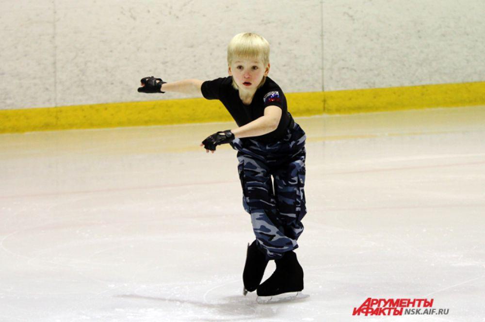 10-летний Даниил Ступников тренируется с 4-х лет.