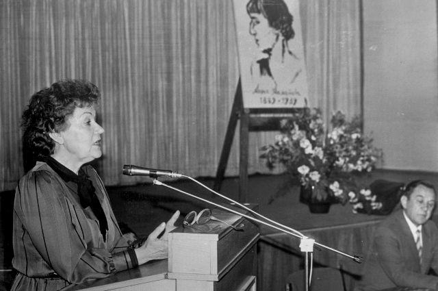 Галина Шлёнская словно была родом из Серебряного века.